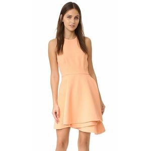 NWOT C/MEO Collective Fools Gold Dress Blush  XS